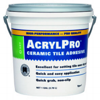On The Other Hand, Itu0027s More Glue Like A Better For Wall Applications, Or  Adhering Tile To Gypsym Wallboard (drywall). Mastic Almost Always Comes  Pre Mixed.