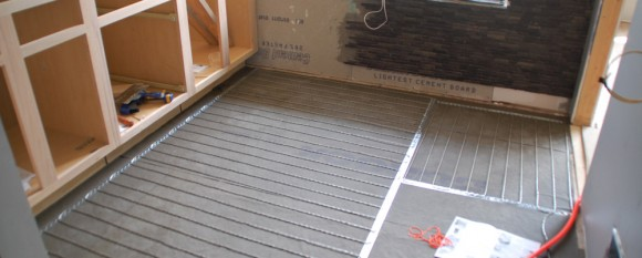 Tile 101 How To Install Suntouch Warmwire Radiant Floor Heat Diydiva