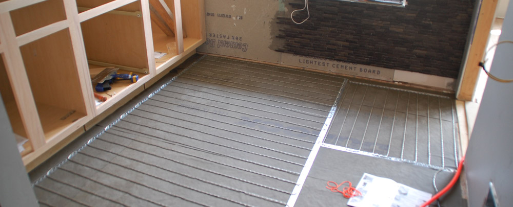 Tile 101 how to install suntouch warmwire radiant floor Radiant floors