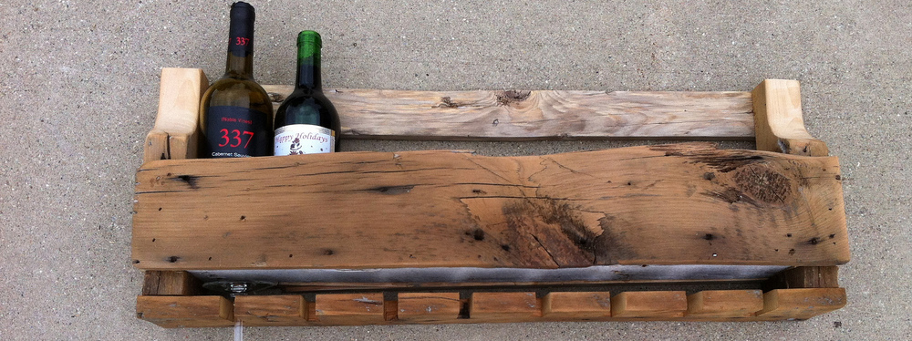 Diy Rustic Wine Rack Supporting My Alcohol Habit One Bottle At A Time Diydiva